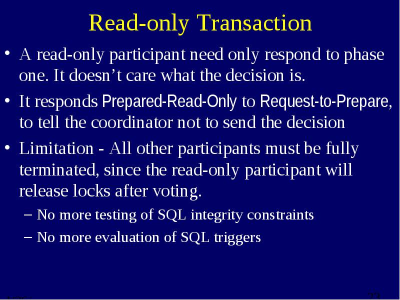 read only participants