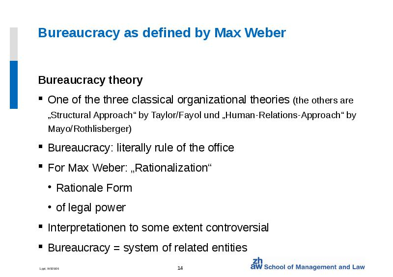 max webers bureaucracy short speech Max weber was an unwitting founder of modern sociology explore his life and work, including the protestant ethic and the spirit of capitalism , at biographycom.