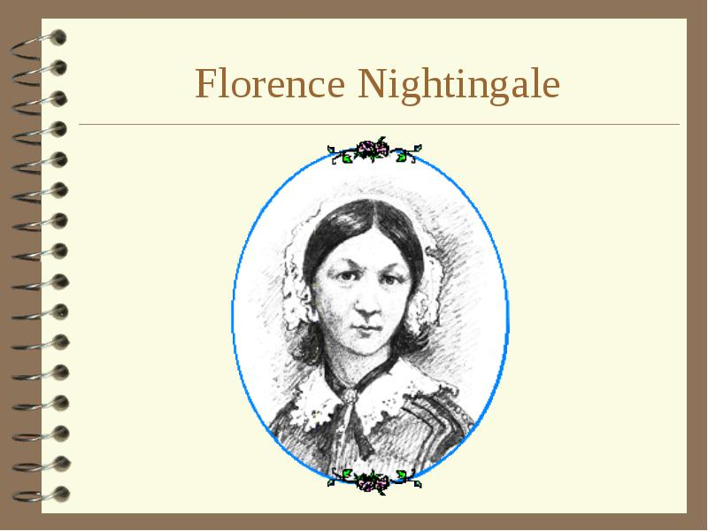 florence nightingales Florence nightingale believed that every woman was a nurse because women cared for their families and it was believed as a natural empathy for people.