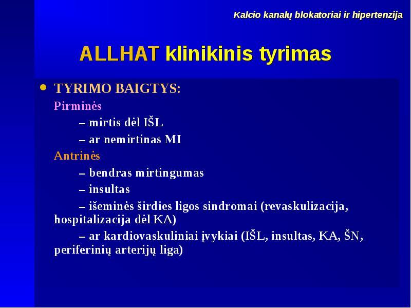 mirtis su hipertenzija)