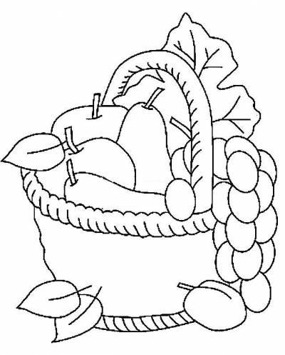Meyve Sepeti Etkinlik Türü Kağıt Işleri Boyama Kullanılan